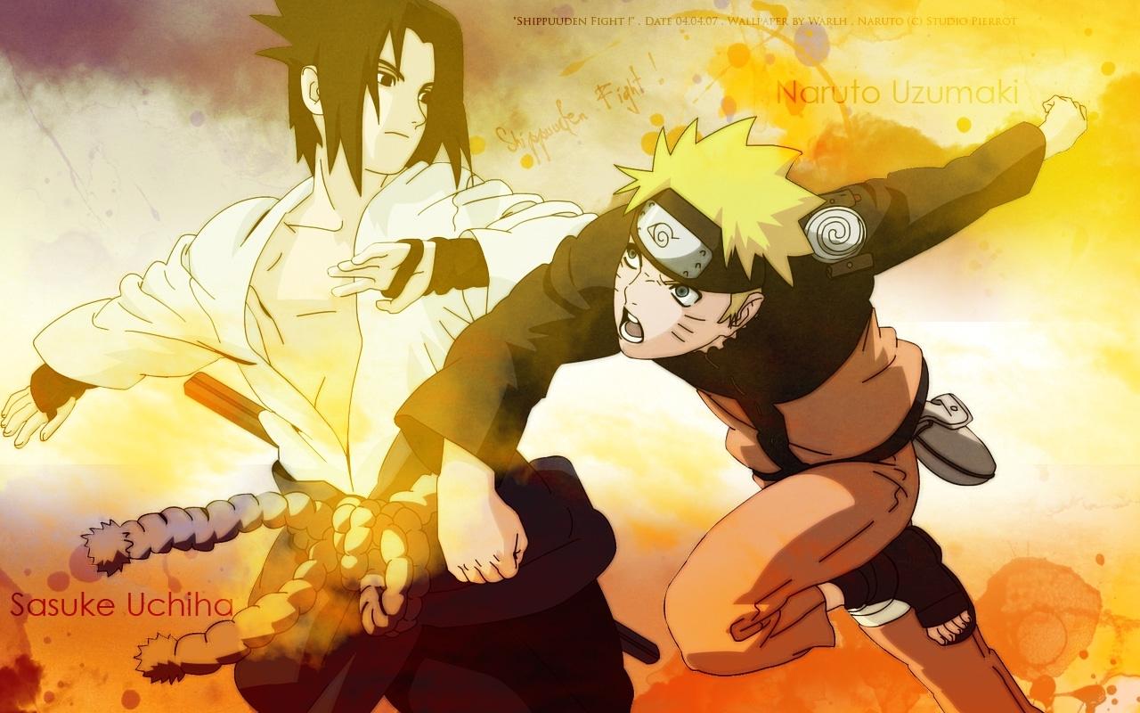 Uchiha Sasuke Naruto Shippuden Uzumaki Naruto Wallpaper - Naruto Shippuden Naruto Hot - HD Wallpaper