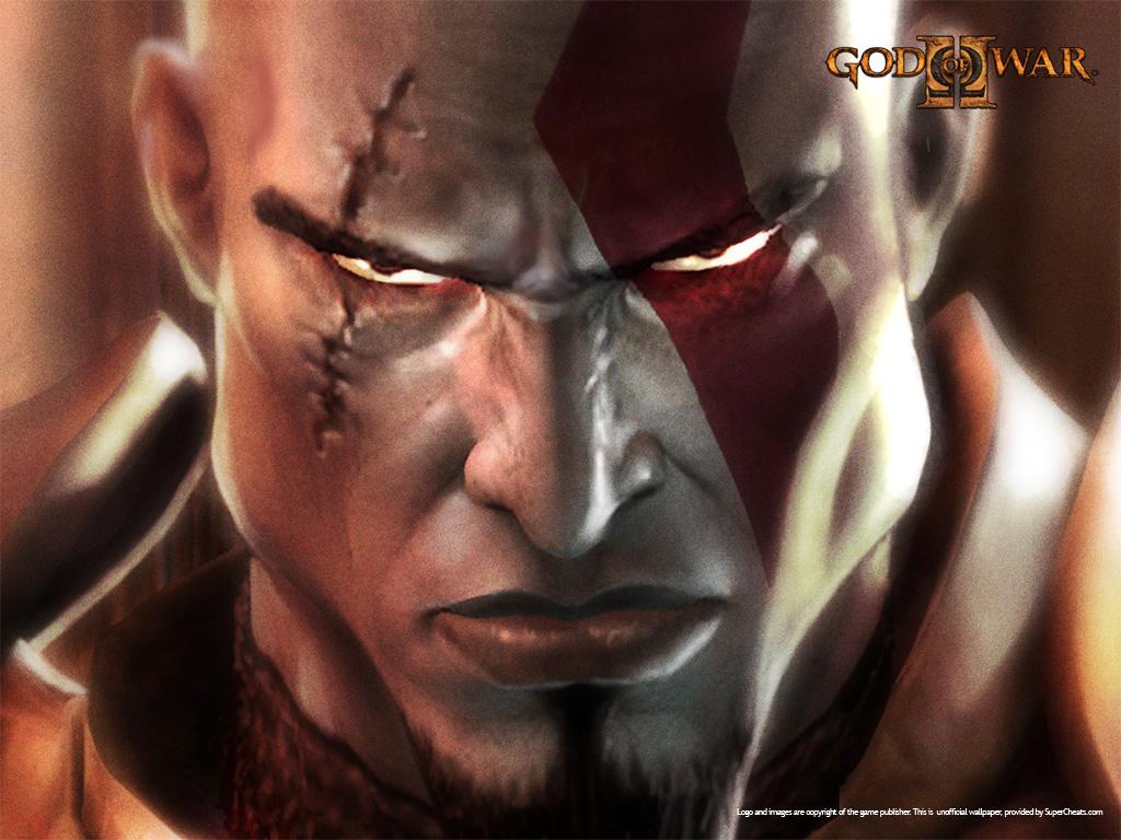 Kartun God Of War - HD Wallpaper