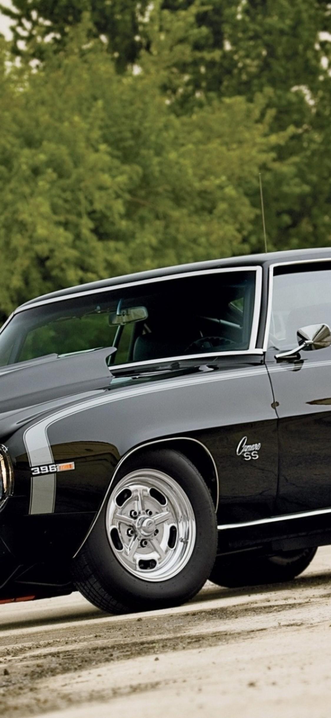 Chevrolet Camaro, Black, Classic Cars   21 Camaro Ss 21 Custom ...