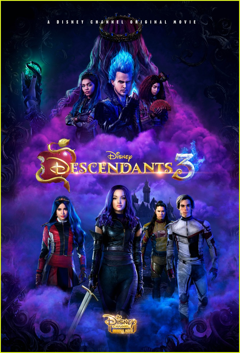 Descendants Cast Text To Cameron Boyce Descendants 3 Wallpaper Ipad 834x1222 Wallpaper Teahub Io