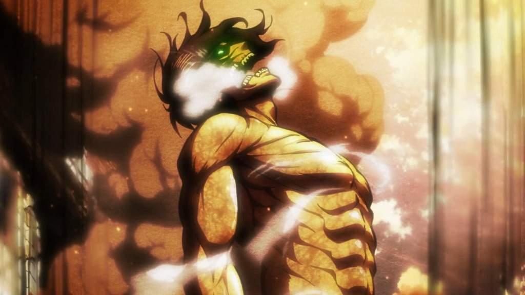 User Uploaded Image Eren Titan Form Anime 1024x576 Wallpaper Teahub Io