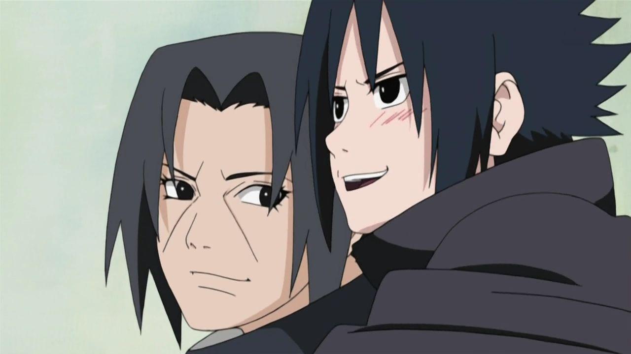 Itachi And Sasuke - Anime Itachi E Sasuke - HD Wallpaper