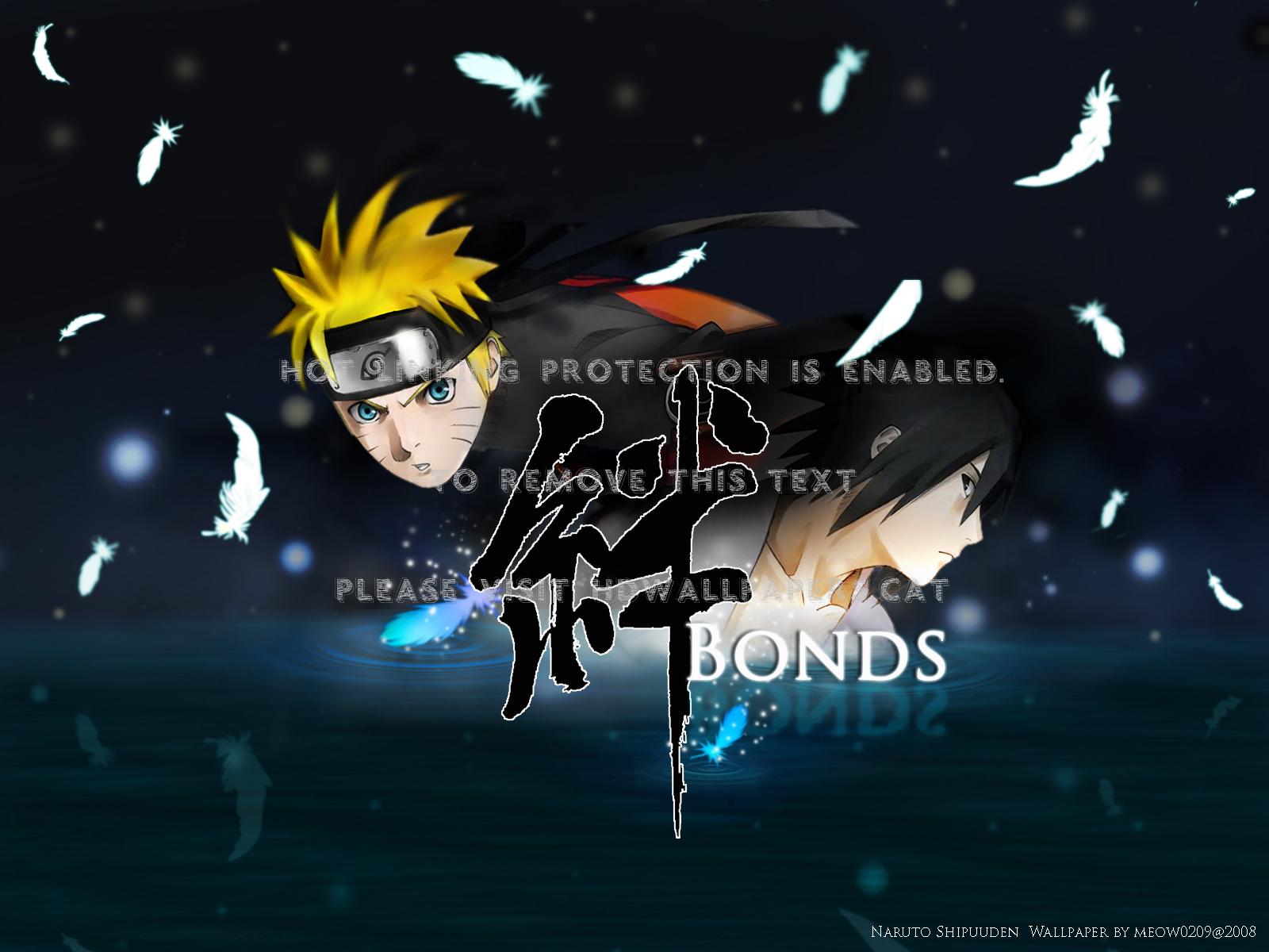 Naruto And Sasuke Shippudden Uzumaki Itachi - Naruto Shippuden The Movie Bonds Backdrop - HD Wallpaper