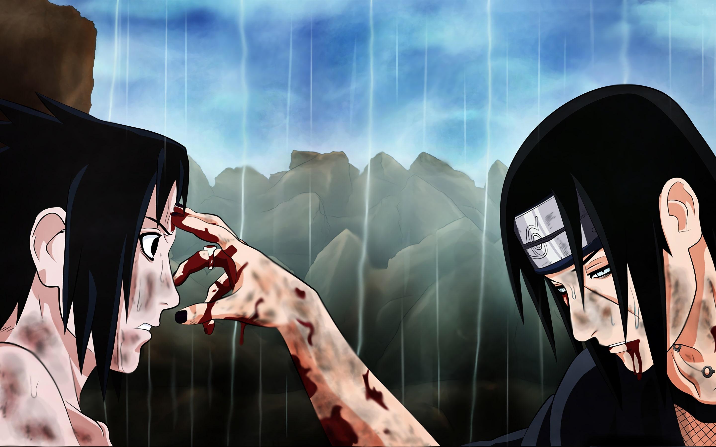 Wallpaper Of Anime, Itachi Uchiha, Naruto, Sasuke Uchiha - Itachi Sasuke Wallpaper 4k - HD Wallpaper