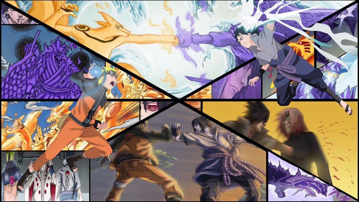 229 2294707 naruto vs sasuke wallpaper hd picserio naruto