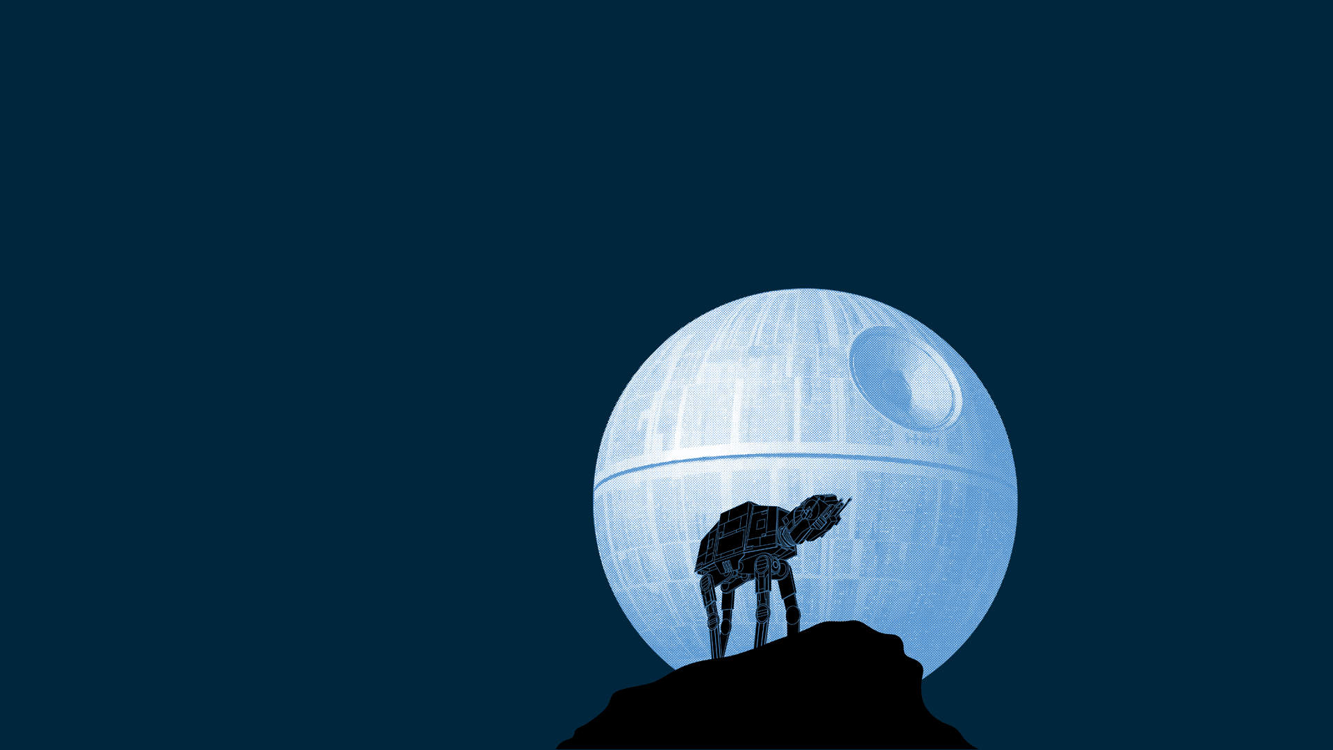 Blue Star Wars Background 1920x1080 Wallpaper Teahub Io