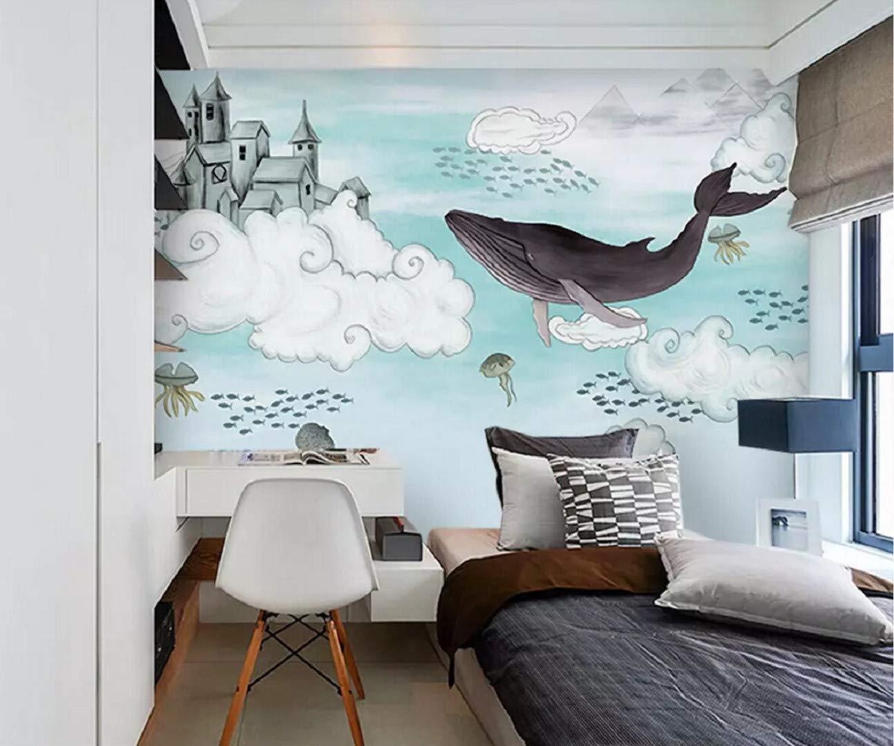 Hand Painted Kids Wall Mural - HD Wallpaper