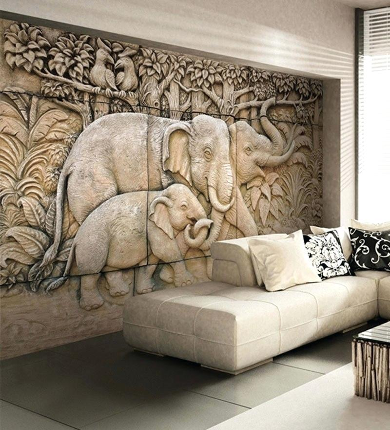 Wallpaper Design For Bedroom Wallpapers Buy Online - Living Room Indian Design Wall Paper - HD Wallpaper