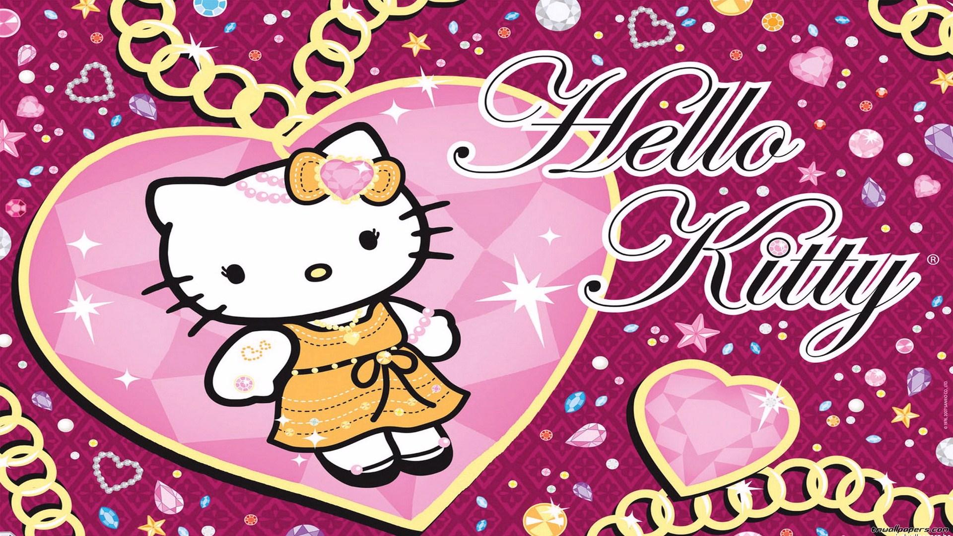 Love Hello Kitty Background 1920x1080 Wallpaper Teahub Io