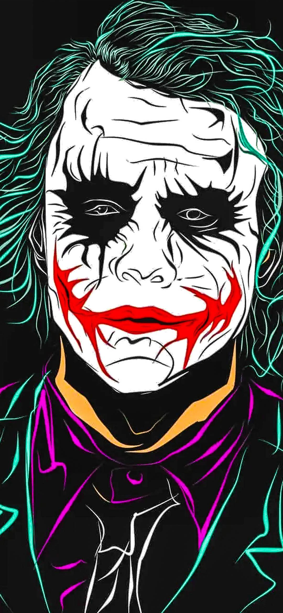Joker Wallpapers Downlaod Joker Wallpaper Hd 2019 1080x2340 Wallpaper Teahub Io
