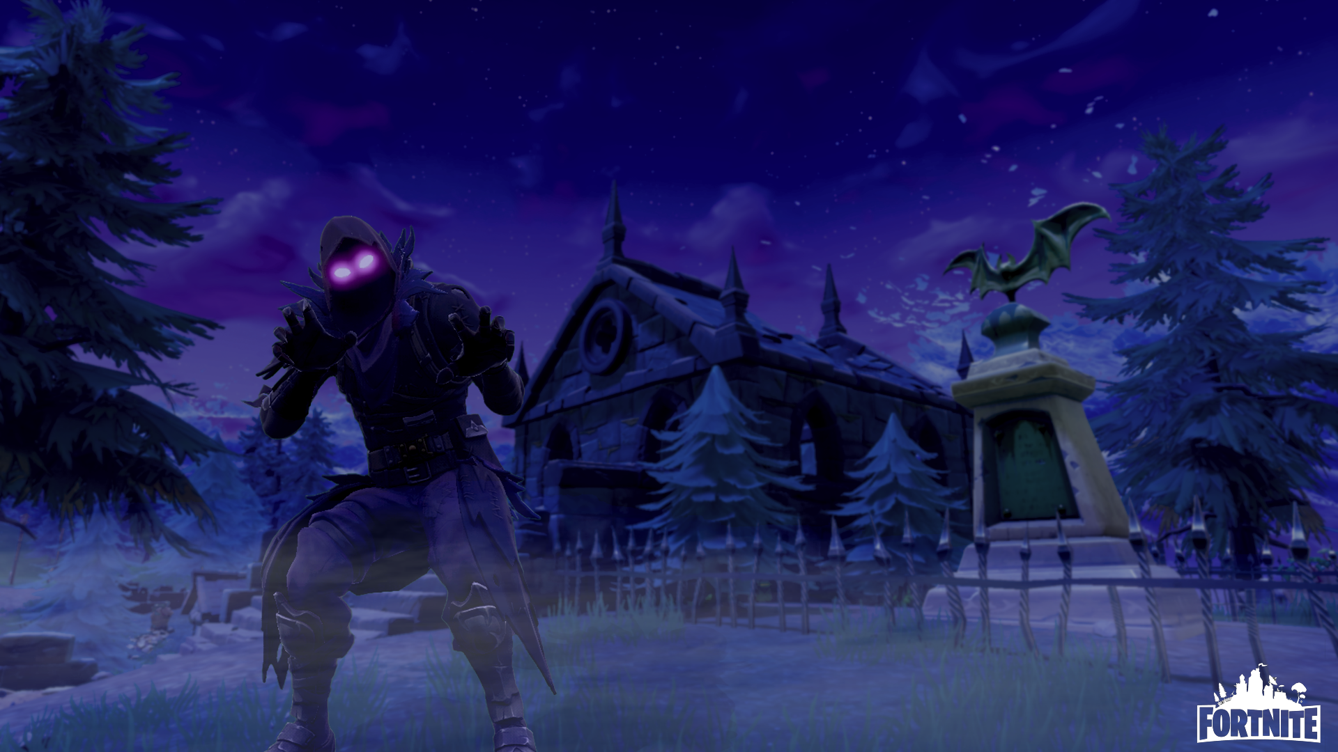 Raven Wallpaper Fortnite 1920x1080 Wallpaper Teahub Io