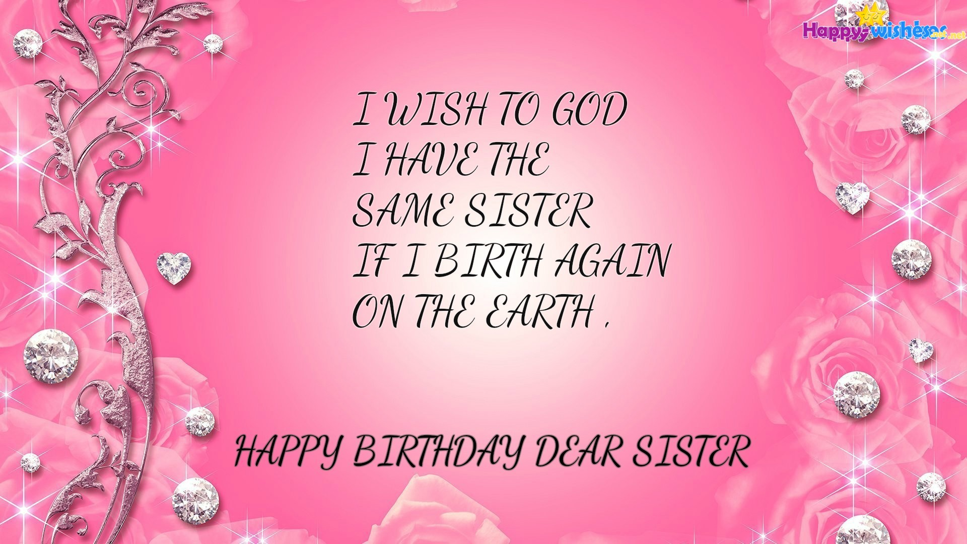 Happy Birthday Sister Wallpapers Hd Download Free Background Beauty Hd Pink 1920x1080 Wallpaper Teahub Io