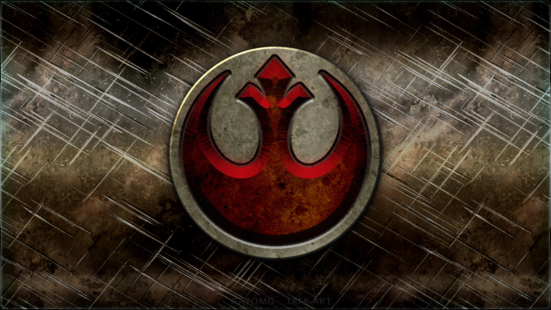 Star Wars Rebel Alliance Logo By Gazomg Data Src Emblem 1920x1080 Wallpaper Teahub Io