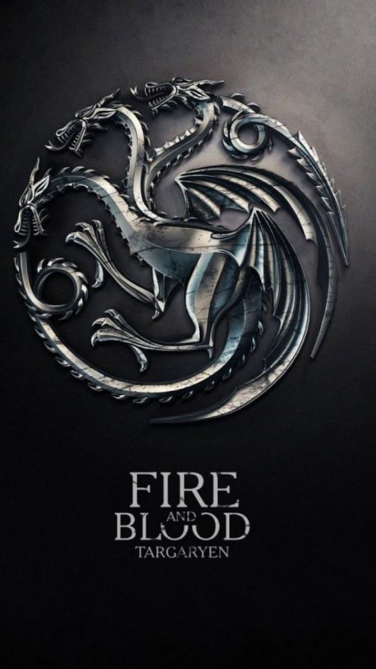Game Of Thrones Fire And Blood Targaryen House Galaxy - Game Of Thrones Iphone Wallpaper Targaryen - HD Wallpaper