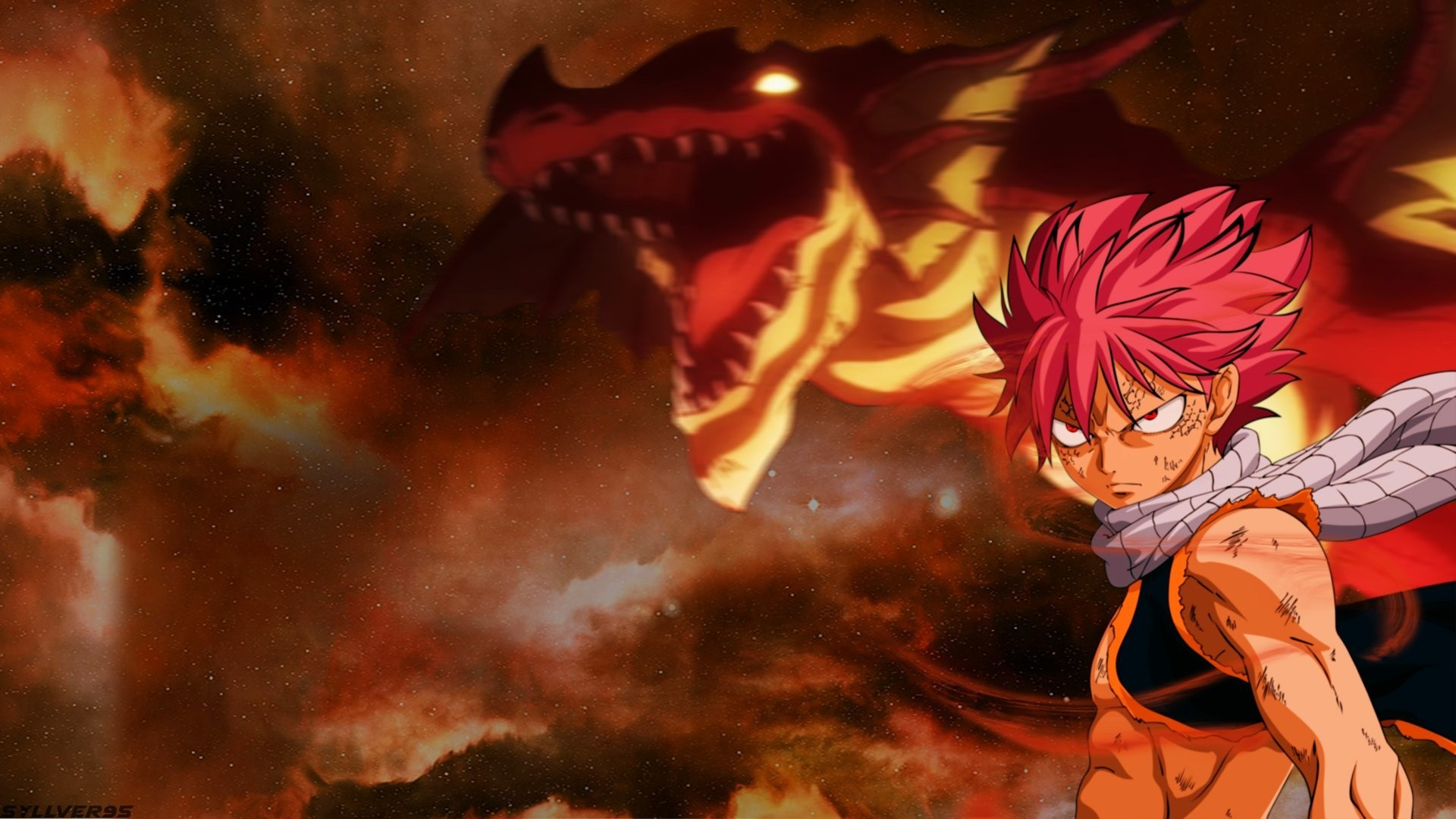 Fairy Tail Igneel Natsu Dragneel Drachen Feuer Anime - Natsu Mod Dragon Ball Xenoverse 2 - HD Wallpaper