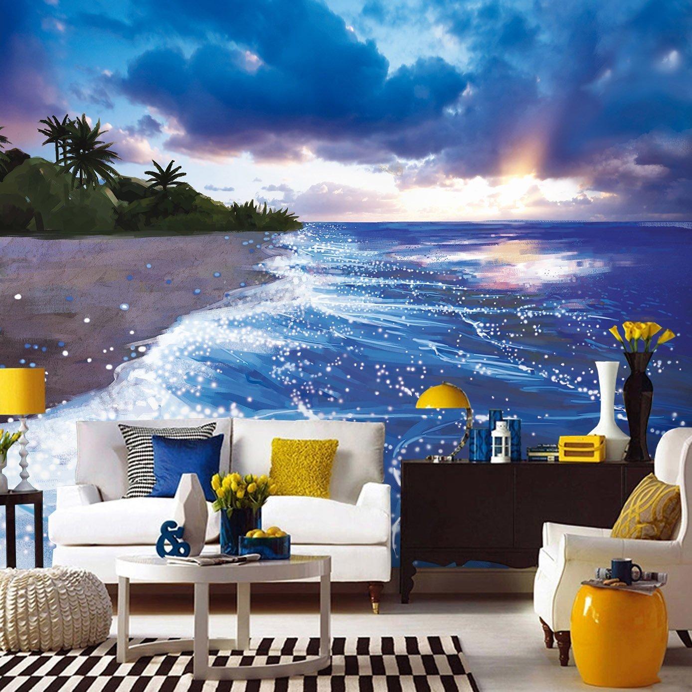 Painting Supplies, Tools & Wall Treatments Hd Print - Landscape Paintings Canvas Prints Nature Art - HD Wallpaper