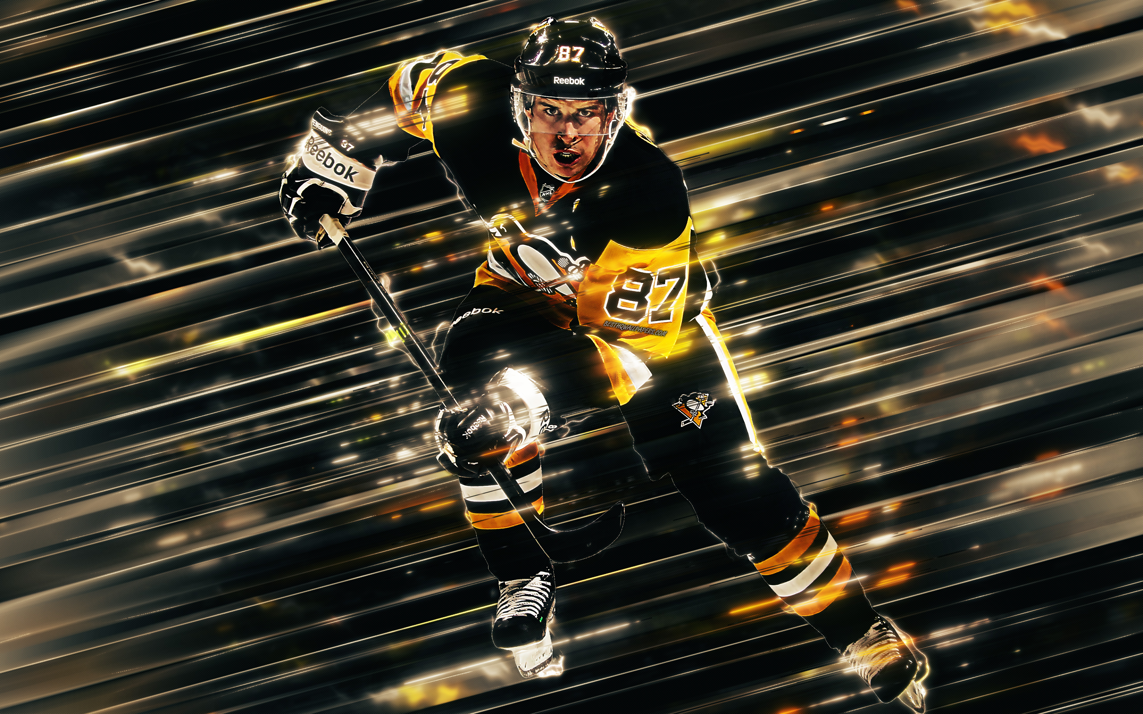 Sidney Crosby, Canadian Hockey Player, Pittsburgh Penguins, - HD Wallpaper