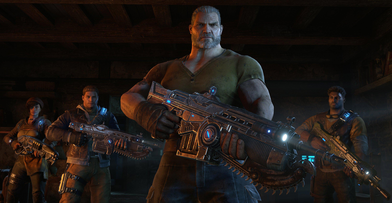 Gears Of War 4 Old Characters - HD Wallpaper