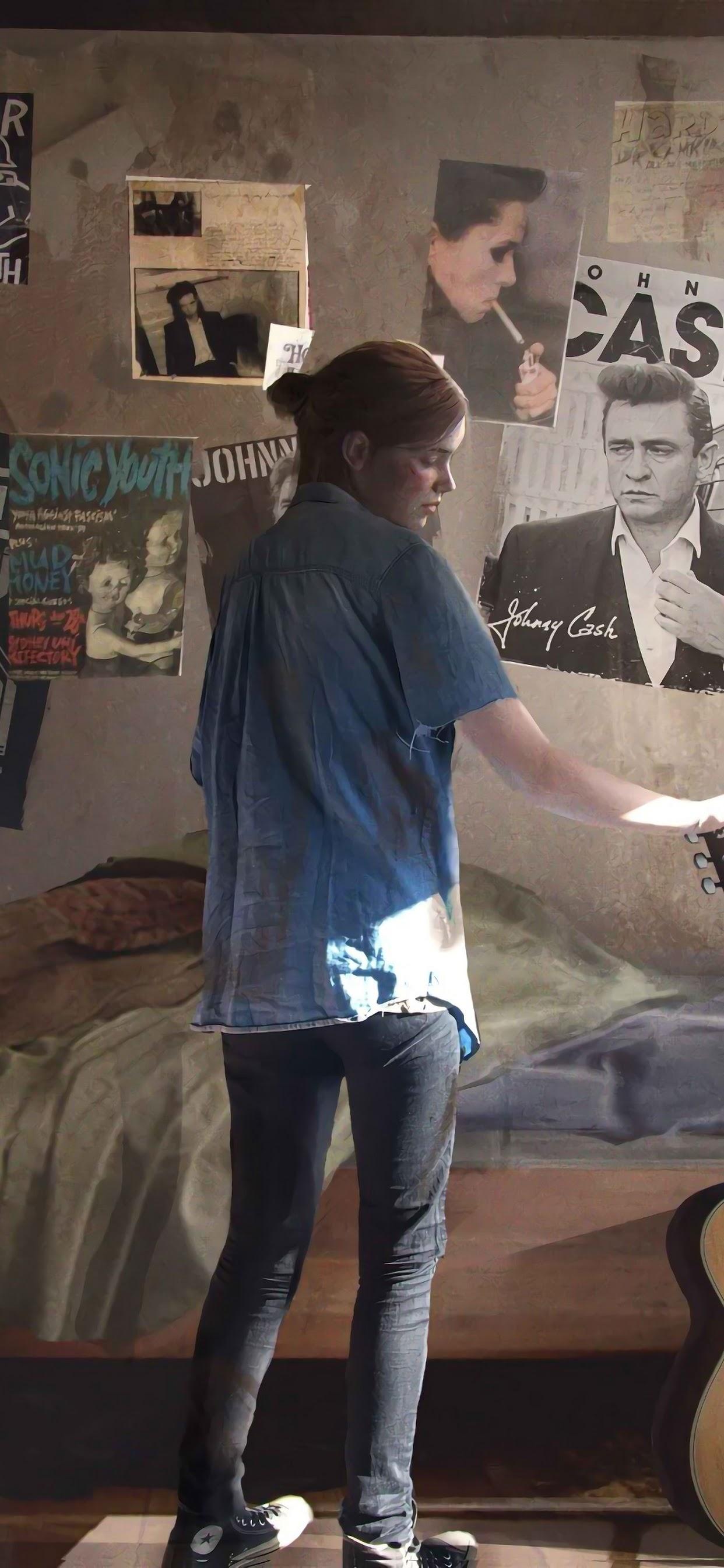 The Last Of Us Part 2, Ellie, Guitar, 4k, - Ellie The Last Of Us Part 2 - HD Wallpaper