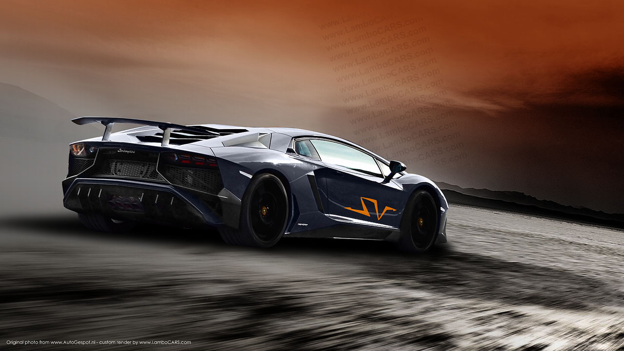 Why Not Another China Edition This Time Based On The Lamborghini Aventador Sv White 1280x720 Wallpaper Teahub Io