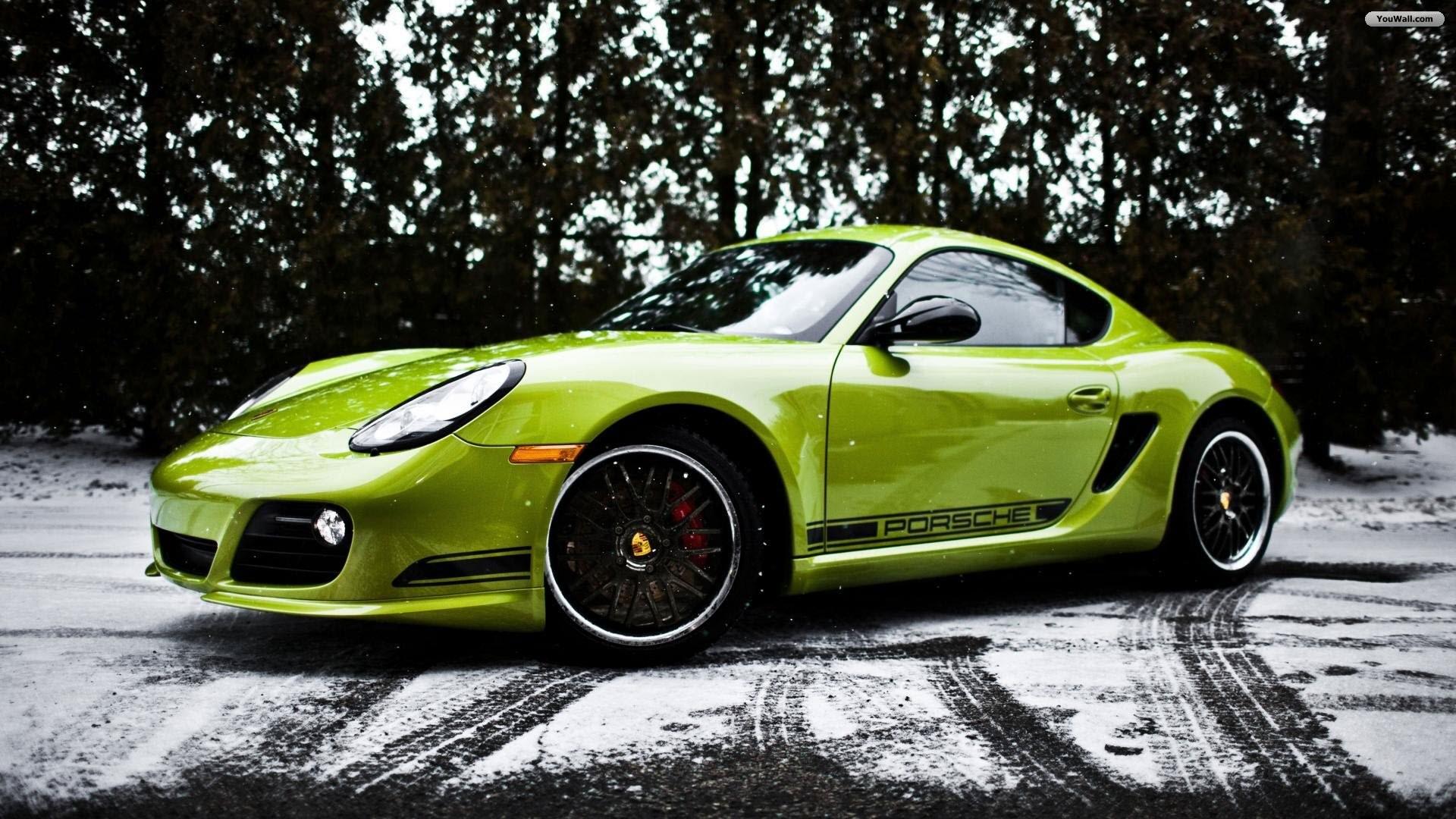 1920x1080, Top Rated Full Hd Quality Porsche Cayman - Porsche Cayman Gt4 Green - HD Wallpaper