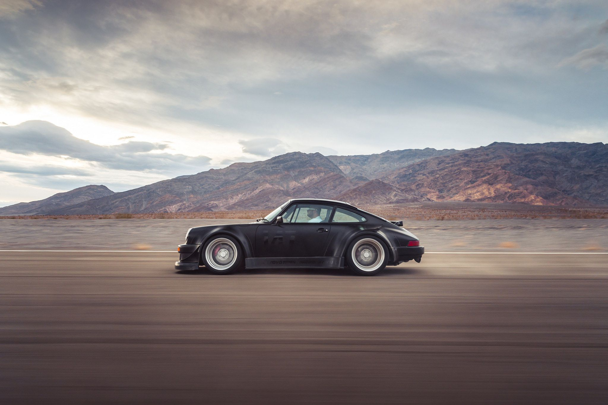 Black Widebody Sport Car On Rotiform Mlw Wheels Porsche 993 Wallpaper Hd 2048x1365 Wallpaper Teahub Io