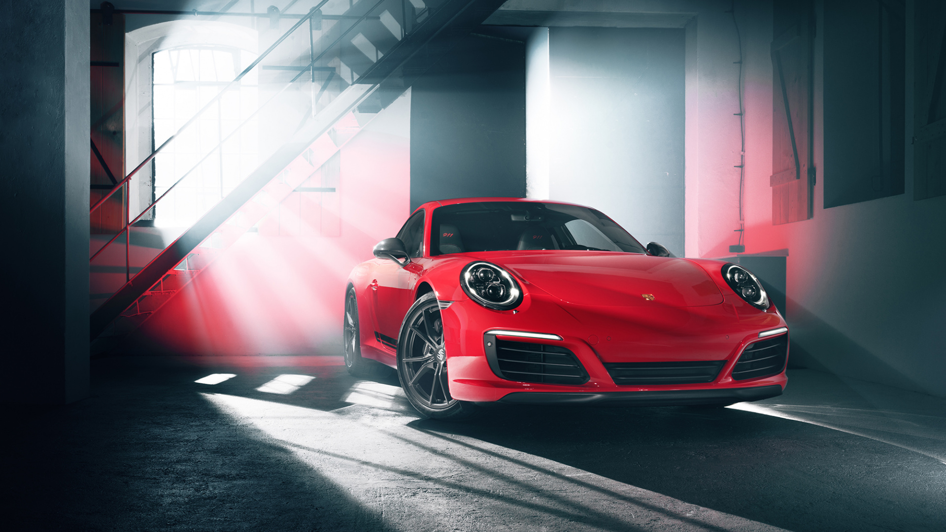 Porsche 911 Carrera S Red 1920x1080 Wallpaper Teahub Io