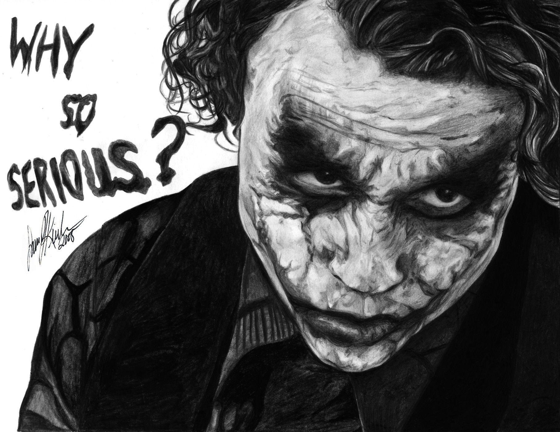Joker Why So Serious Wallpaper - Joker ...