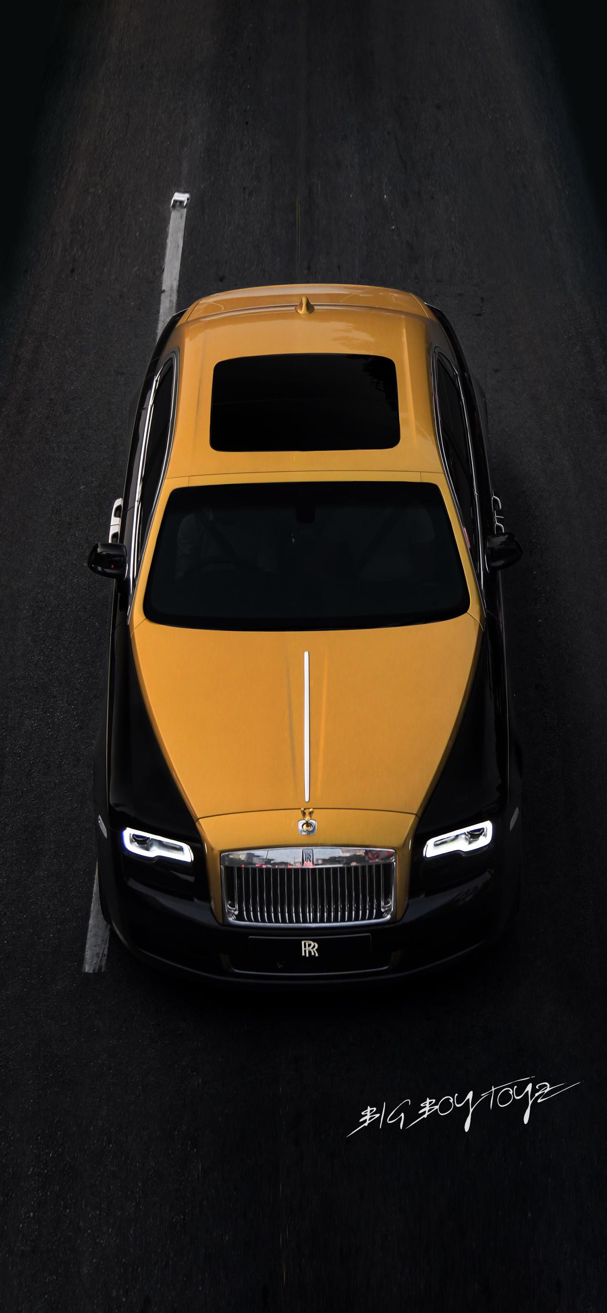 Rolls Royce Black And Gold 1242x2688 Wallpaper Teahub Io