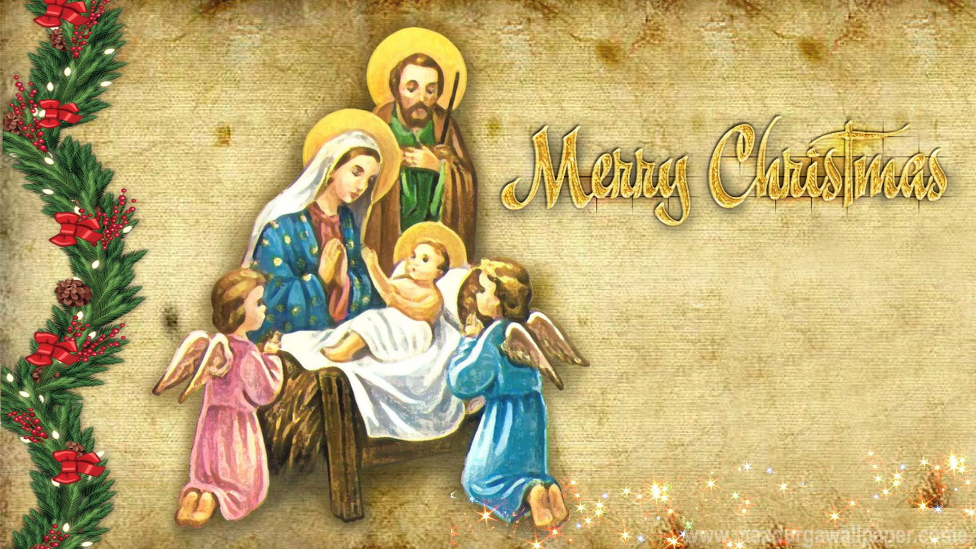 1920x1080, Christmas Nativity Animals 4   Data Id 16744 - Jesus Christmas Wallpaper Hd - HD Wallpaper