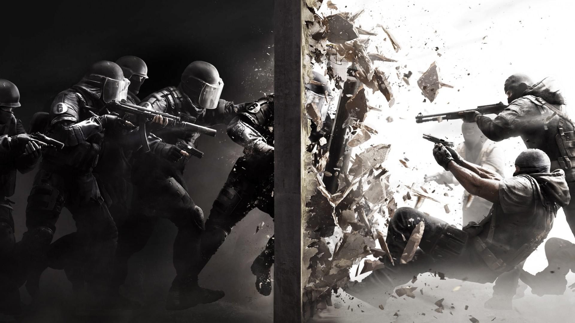With Other Teams Such As Swat, Sas, Gsg 9, Spetsnaz - Rainbow Six Siege Wallpaper Windows - HD Wallpaper
