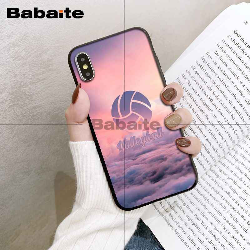 Babaita I Love Volleyball Tpu Soft Silicone Phone Case - Iphone Xs Max Volleyball - HD Wallpaper