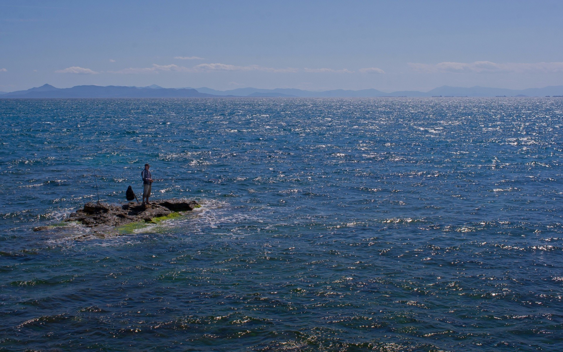Europe Water Landscape Sea Ocean Travel Seashore Beach - Sea - HD Wallpaper