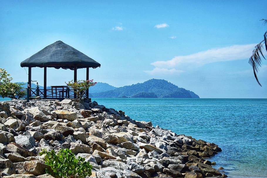 Sea, Water, Blue, Peace, Sky, Langkawi, Beautiful, - Langkawi - HD Wallpaper