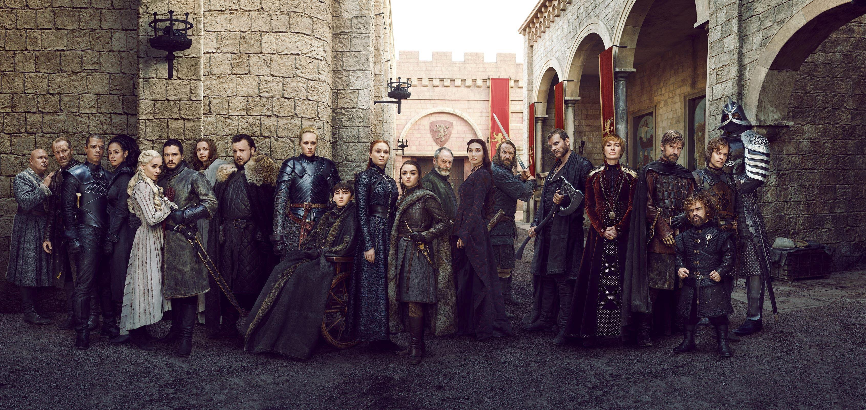 Game Of Thrones Season 8 Cast - HD Wallpaper