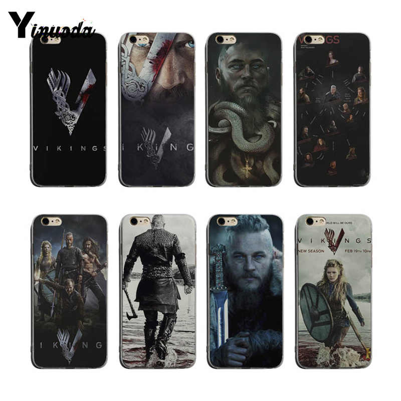 Yinuoda Ragnar Lothbrok Vikings For Iphone 7plus Coque - Cover ...