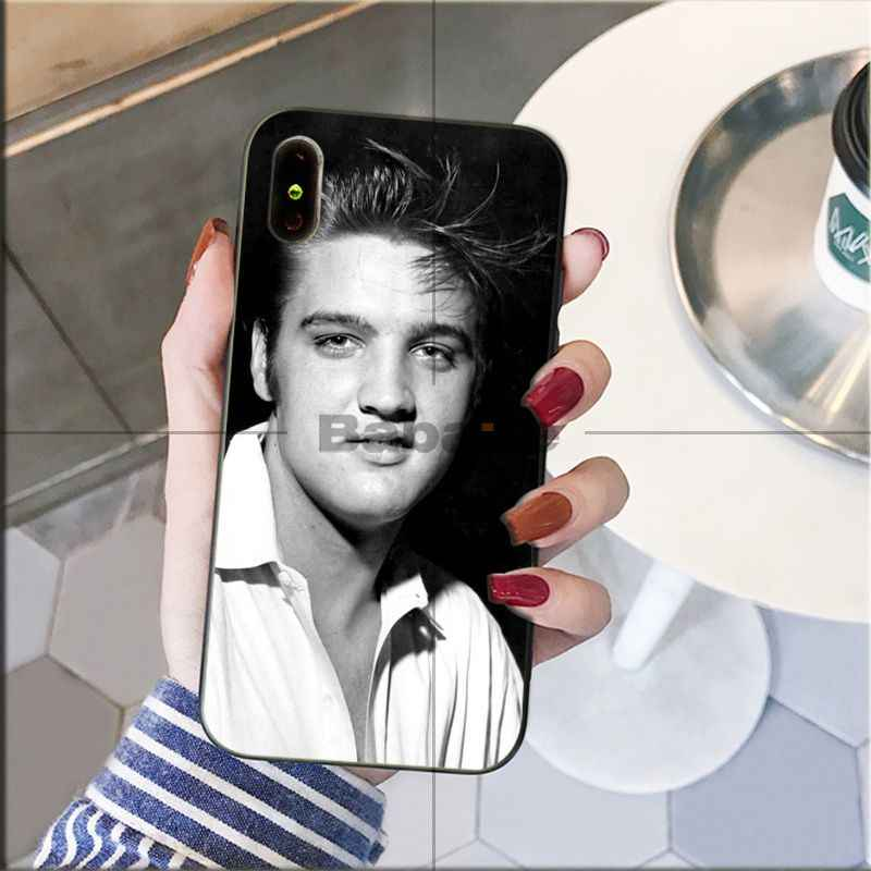Babaite The King Of Rock Elvis Presley Kiss New Arrived - Lilo And Stitch Painted Phone Case - HD Wallpaper
