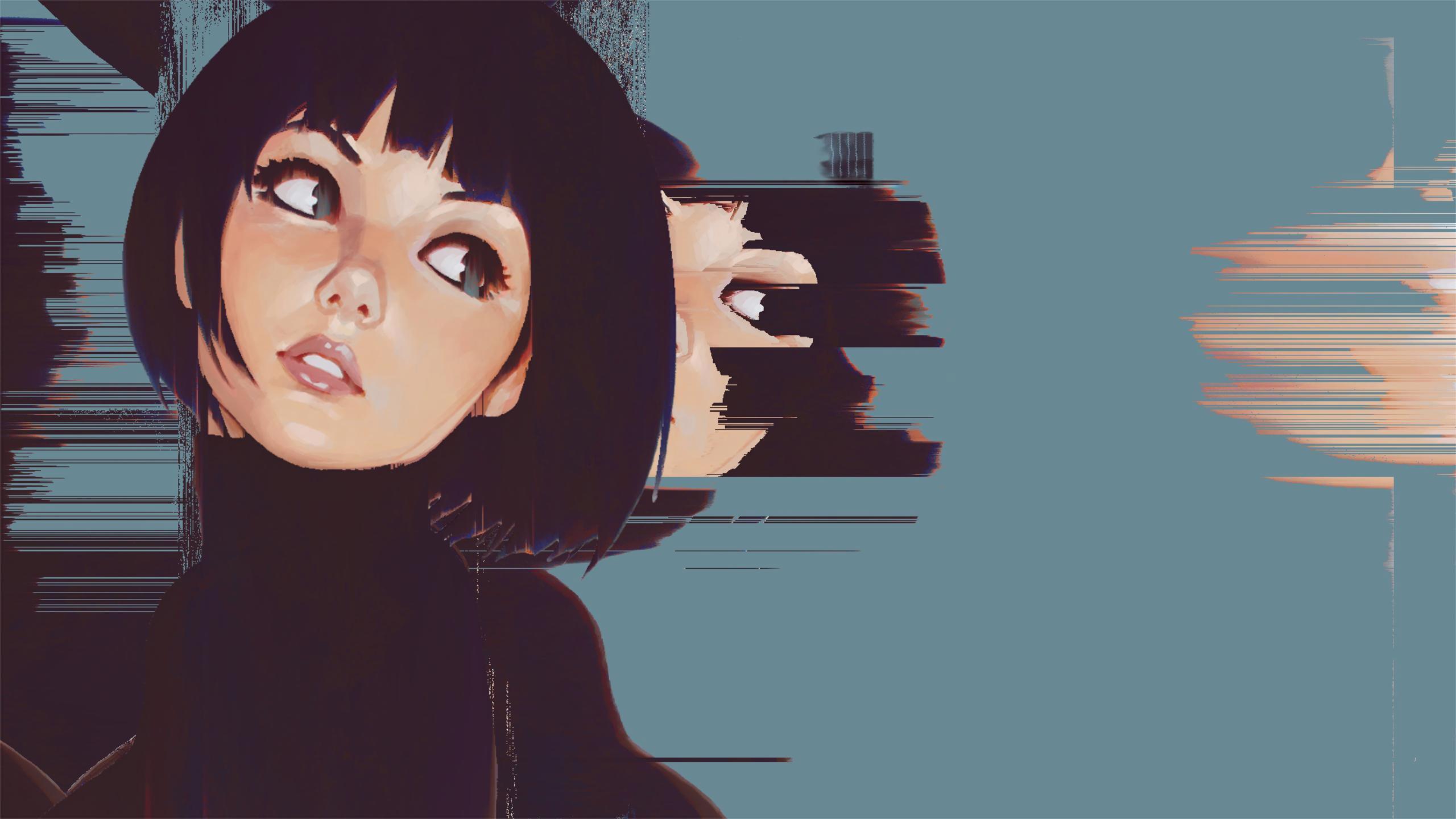 Hd Anime Girls Reddit Wallpapers Ilya Kuvshinov Glitch 2560x1440 Wallpaper Teahub Io 13 wallpaper anime reddit