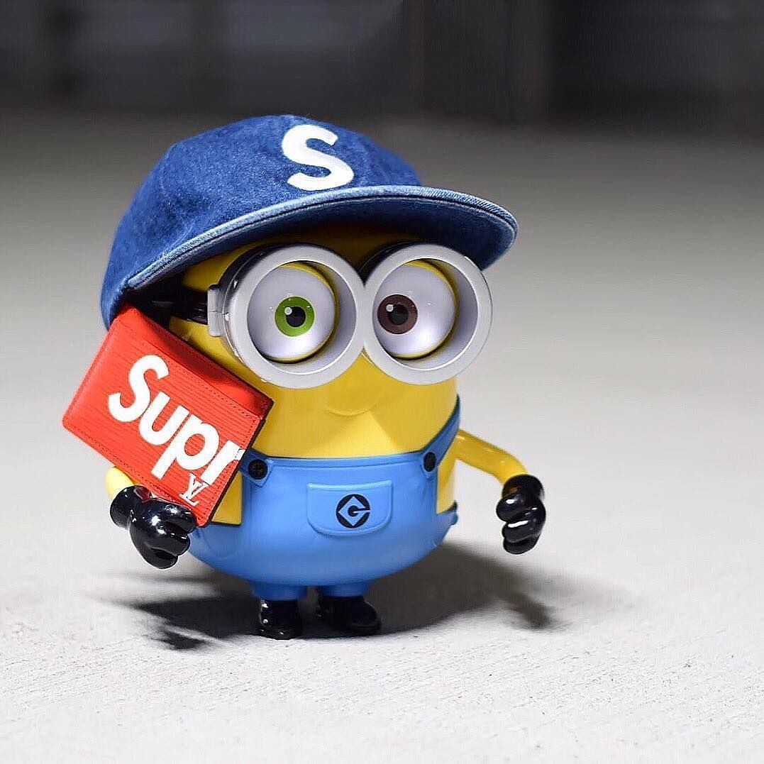 Supreme Minion 1077x1077 Wallpaper Teahub