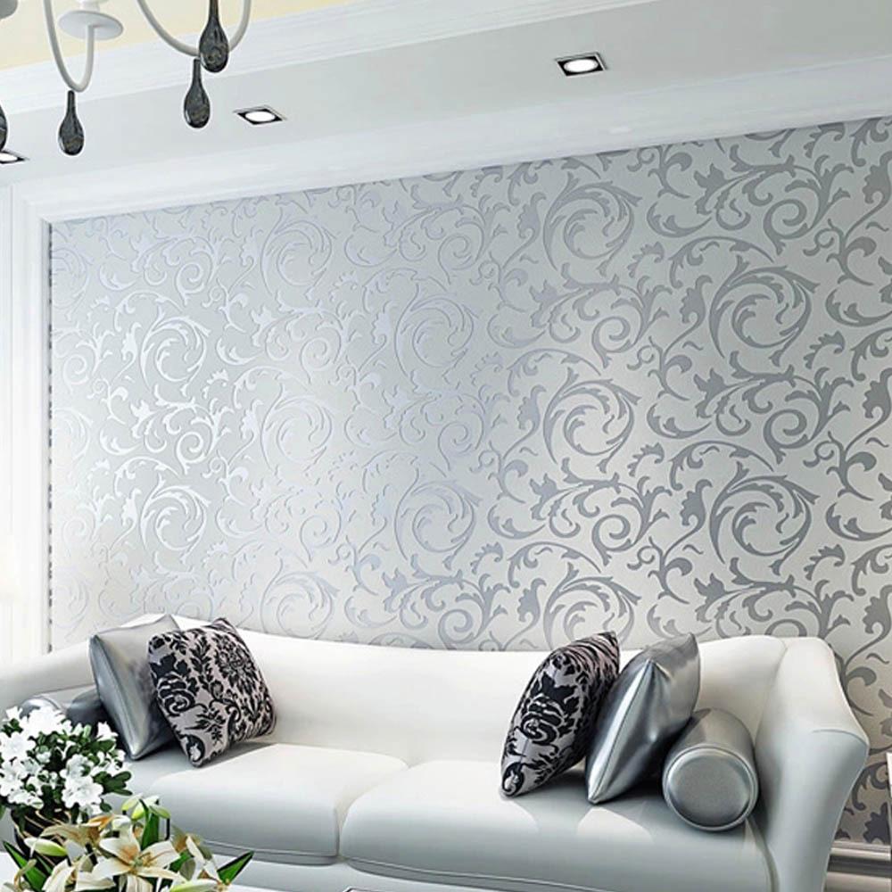 Design Wall Paper Living Room - HD Wallpaper