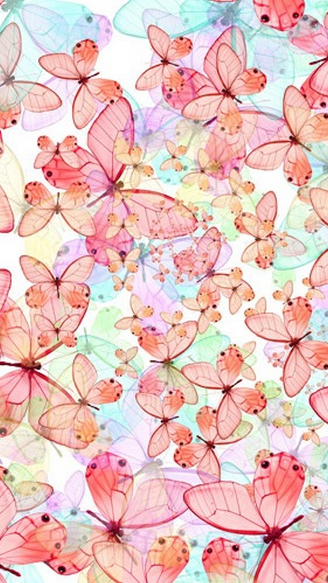 Pink Butterfly Hd Wallpapers For Mobile - Phone Wallpaper ...