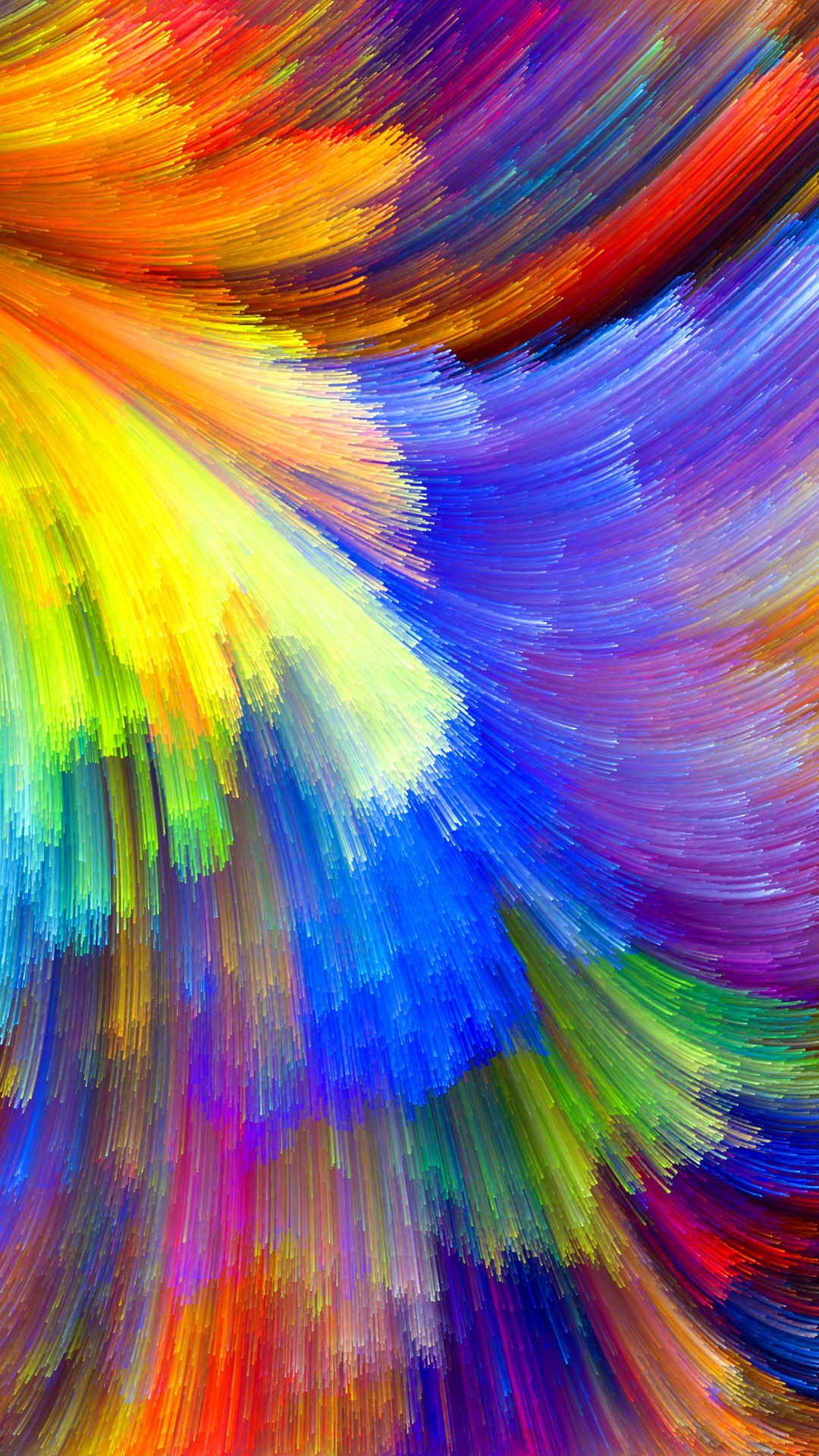 Pattern, Relief, Spot, Rainbow, Color, The Volume, - Color Printing - HD Wallpaper