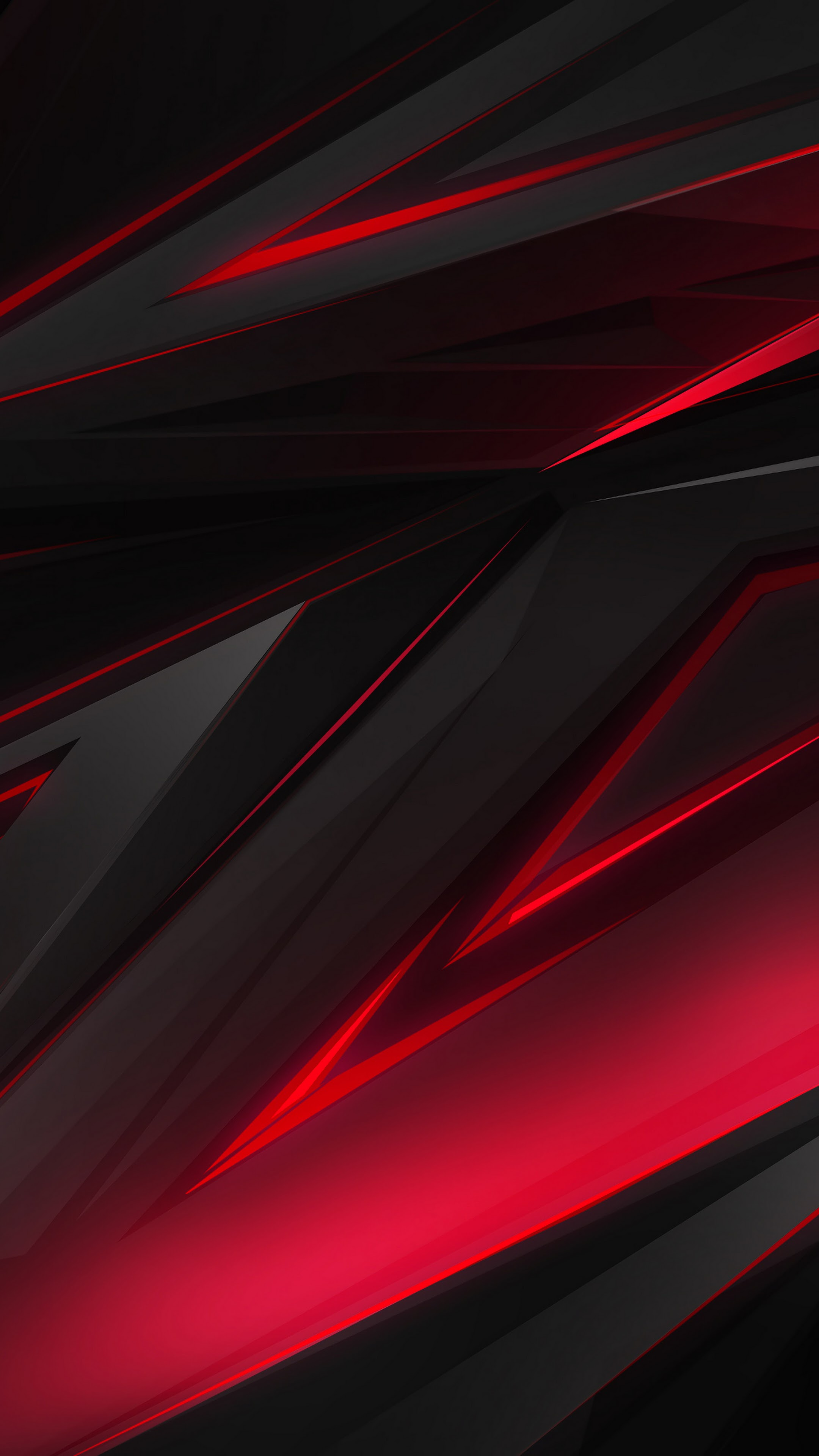 Black Red Abstract Polygon 3d 4k Iphone 11 Wallpaper Red 2160x3840 Wallpaper Teahub Io