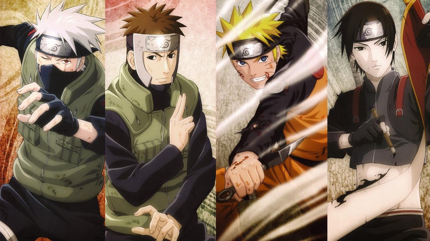 24 240821 wallpaper android anime naruto keren naruto sasuke sai