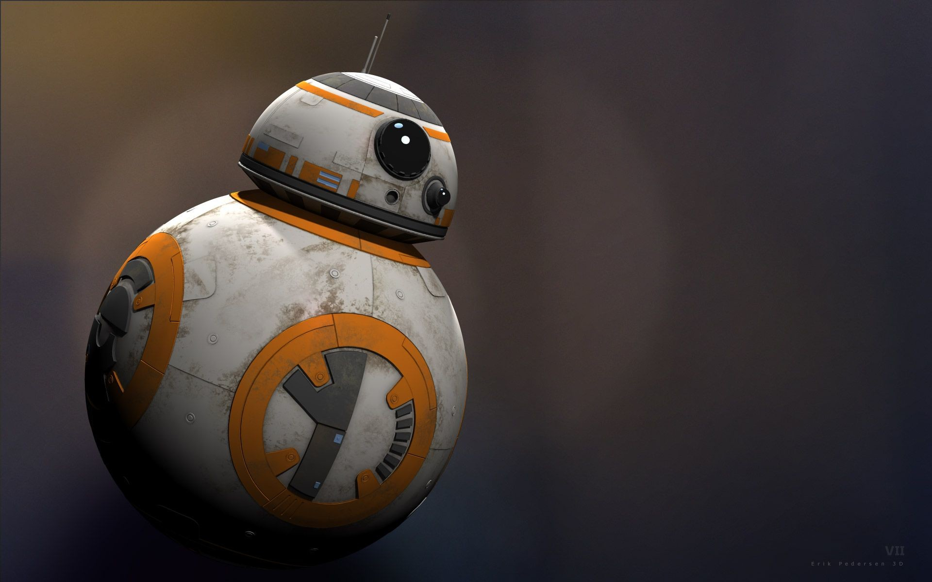 1920x1200 Bb8 Droid Wallpaper Star Wars Vii Bb8 Droid Star Wars Bb8 1920x1200 Wallpaper Teahub Io