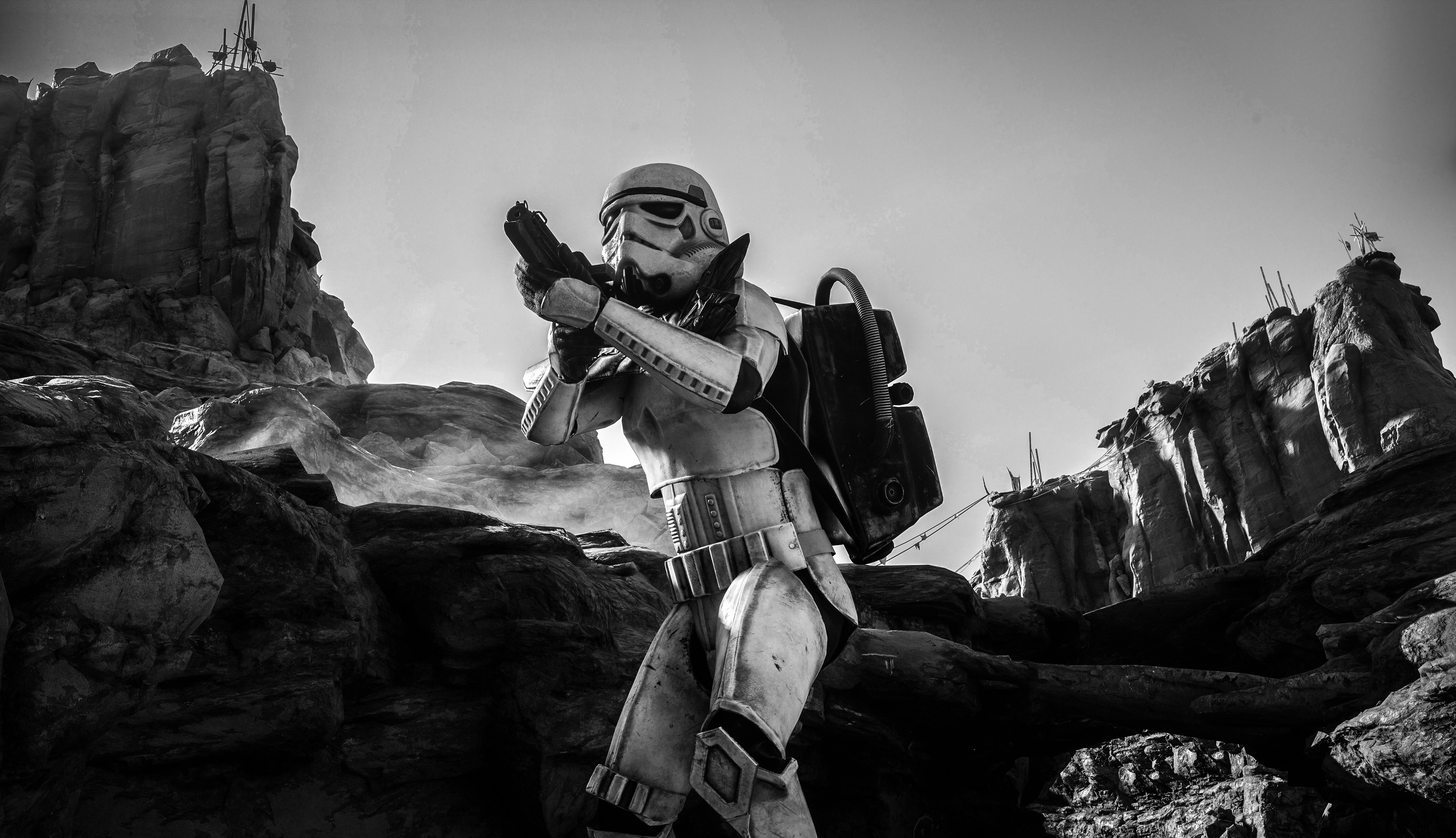 Storm Trooper Background 4k 5005x2880 Wallpaper Teahub Io