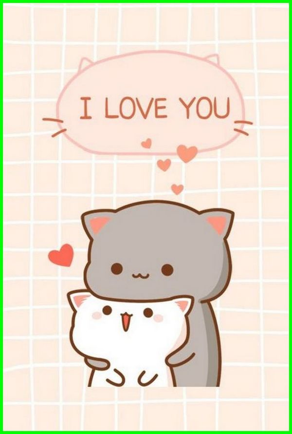 Kucing Kata2 Cinta Romantis Kawaii Clipart 600x889 Wallpaper Teahub Io