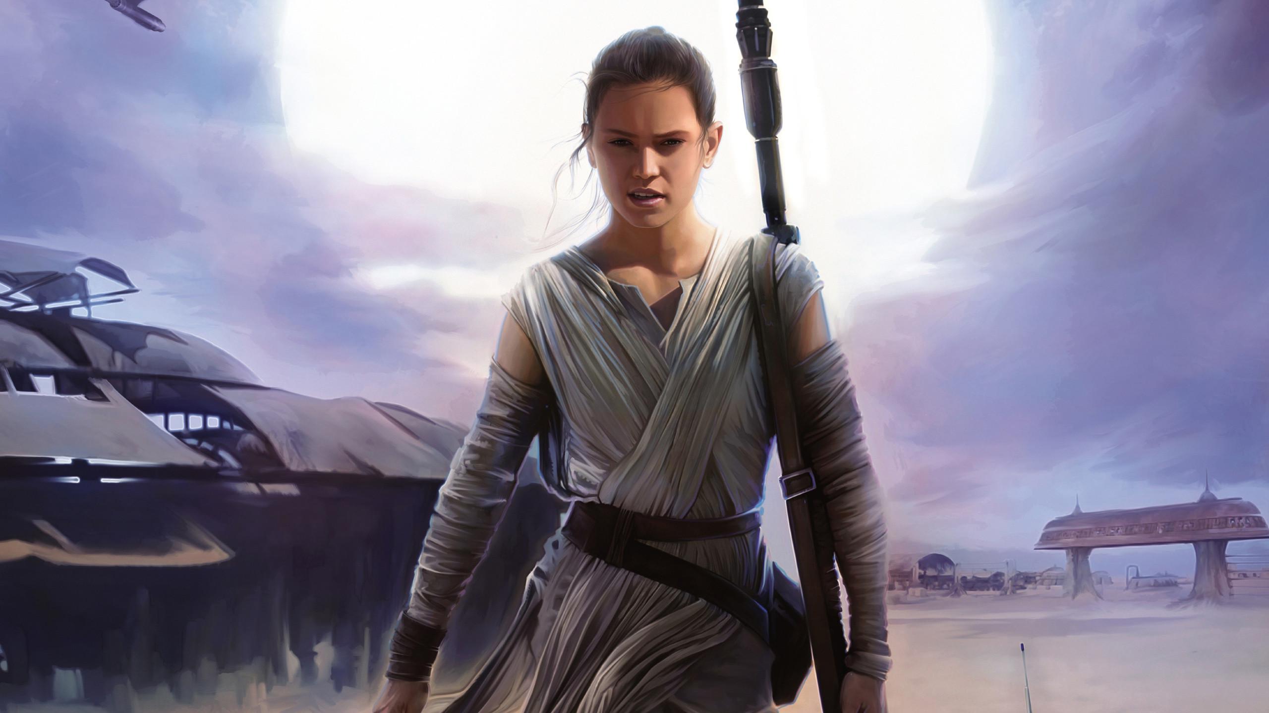 Rey Artwork - Star Wars Jedi Force ...