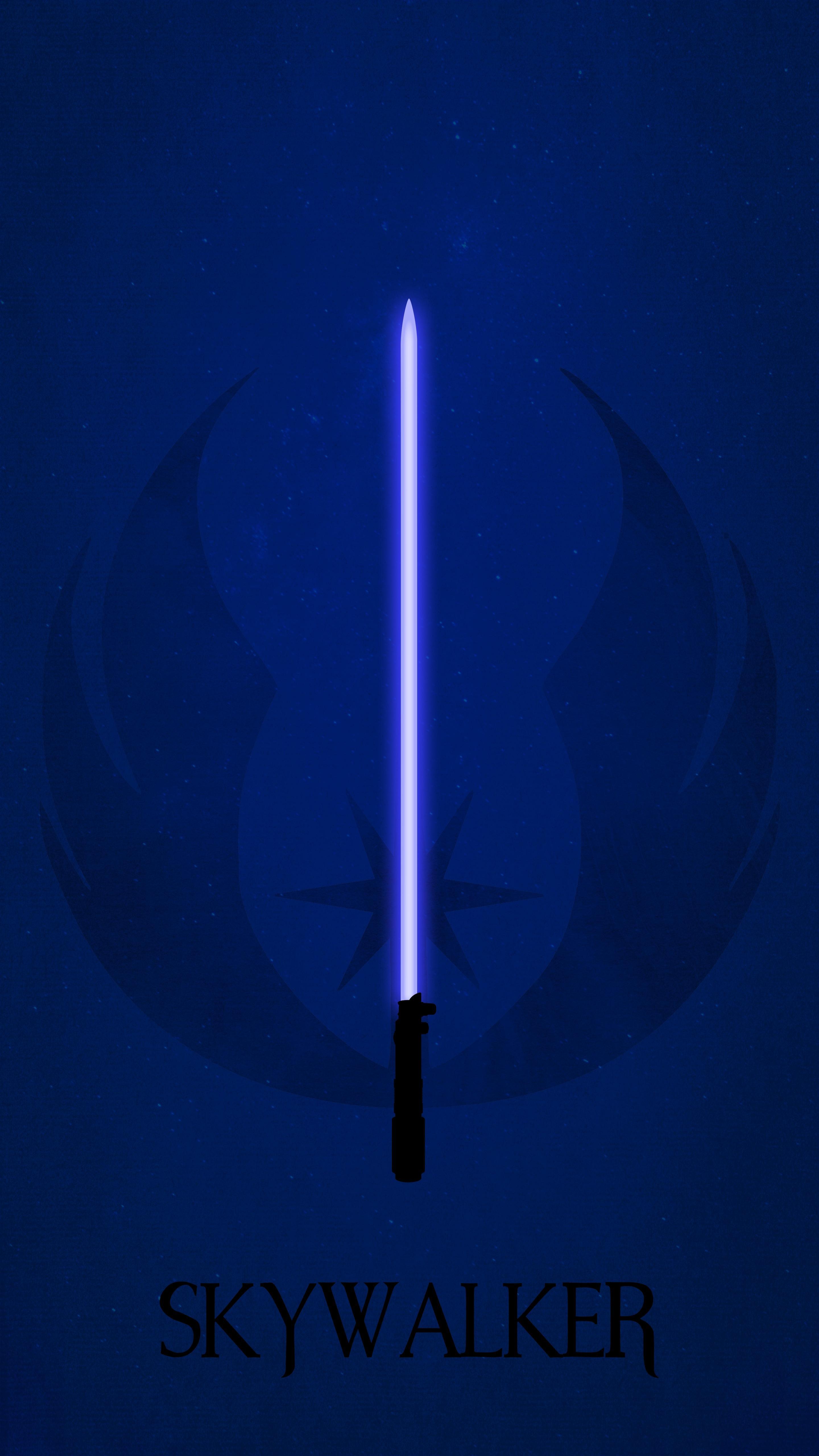 Star Wars Phone Wallpaper Lightsaber 2880x5120 Wallpaper Teahub Io