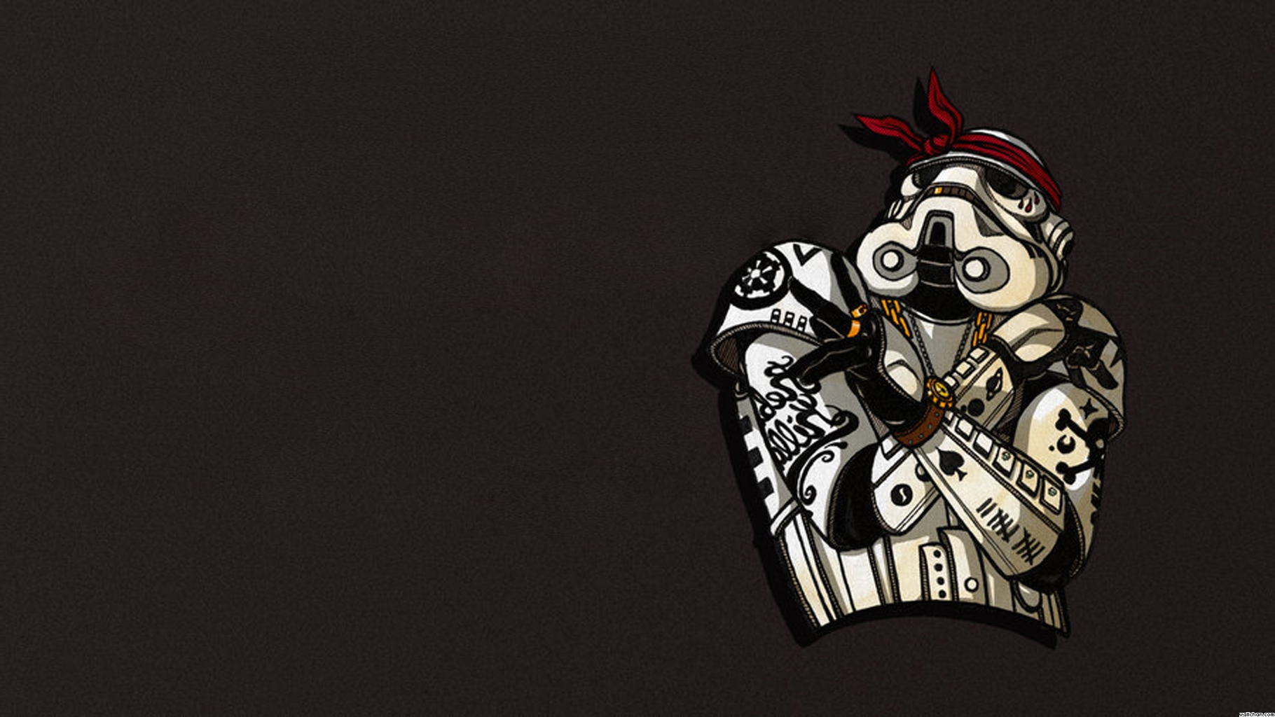 Funny Stormtrooper Wallpaper Gangsta Cover Photos For Facebook 1820x1024 Wallpaper Teahub Io